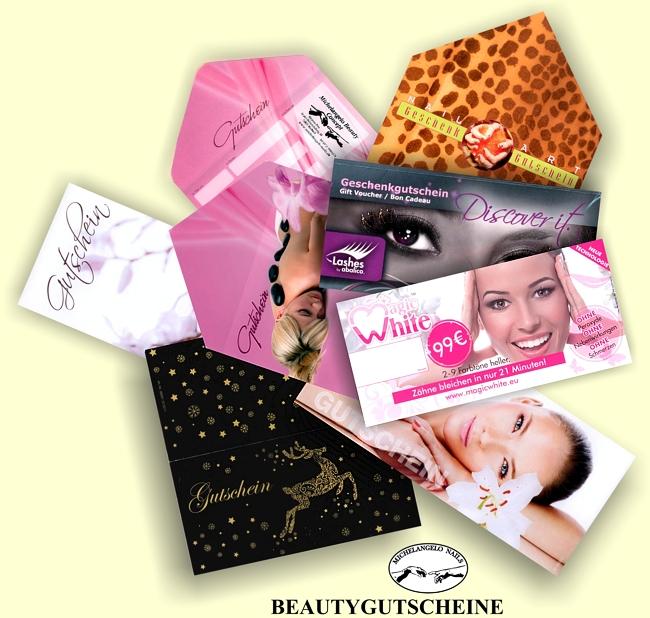Beauty Gutschein zum verschenken - MOSBACH